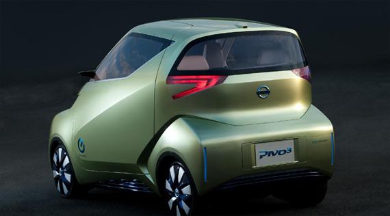 Nissan Pivo 3 concept, Ηλεκτρικό τριθέσιο αυτοκίνητο