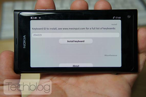 Είμαι το Nokia N9 και θα αποκτήσω ελληνικό πληκτρολόγιο