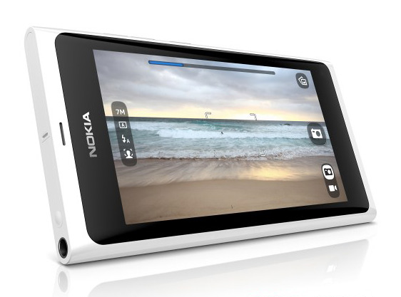 Nokia N9 λευκό