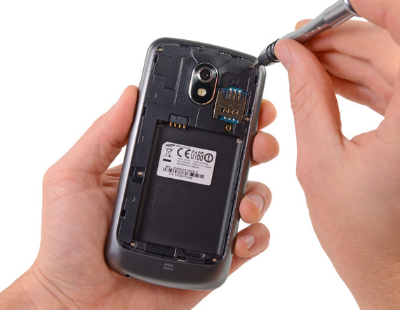 Samsung Galaxy Nexus teardown, Για τα μάτια σας μόνο
