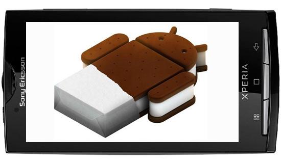 Sony Ericsson, Διαθέτει επίσημα μια alpha ROM Android Ice Cream Sandwich [+video]
