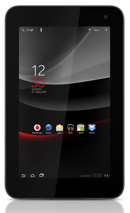Vodafone Smart Tab 7, Branded tablet με Android Honeycomb