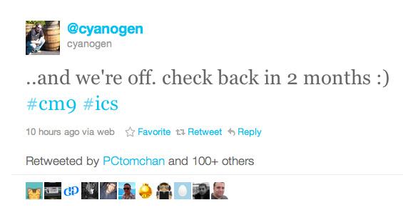 CyanogenMod 9, Android Ice Cream Sandwich για 60+ smartphones τον Ιανουάριο