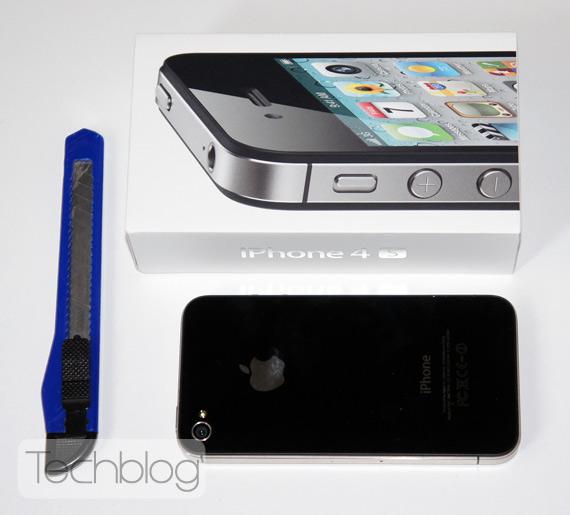 iPhone 4S ελληνικό unboxing
