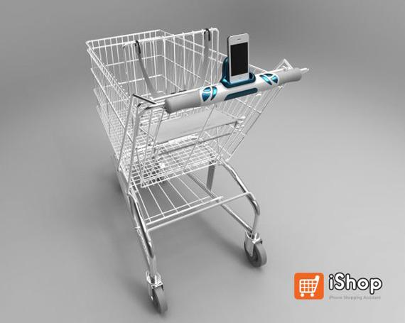 iShop, Καροτσάκι super market με dock για το iPhone