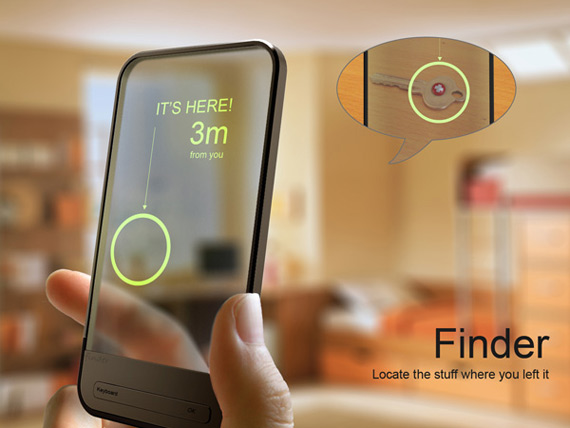 RFID Finder, Βρείτε ότι ψάχνετε μέσα στο σπίτι με το κινητό σας [concept]