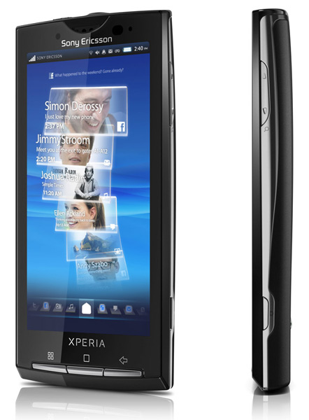 Sony Ericsson Xperia X10, Τρέχει Android Ice Cream Sandwich (Alpha)