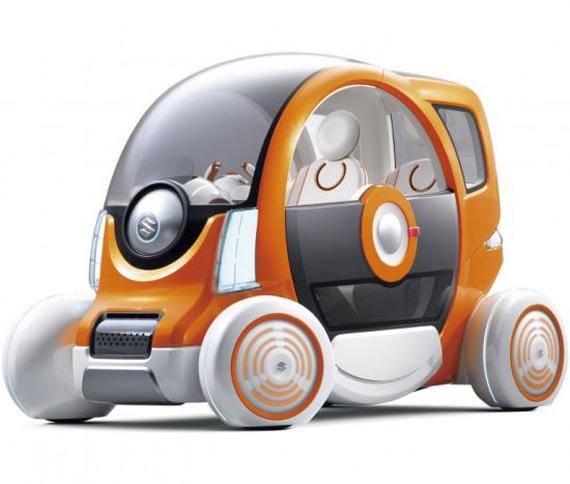 Suzuki Q concept, Διθέσιο ηλεκτρικό αυτοκίνητο που κάνει τα Smart να φαίνονται SUV!