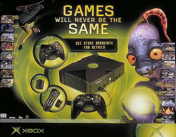 10 χρόνια Xbox, To ιστορικό λανσάρισμα σε εικόνες