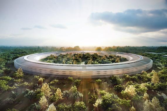Apple Campus 2, Τα νέα γραφεία της Apple θα είναι διαστημικά!