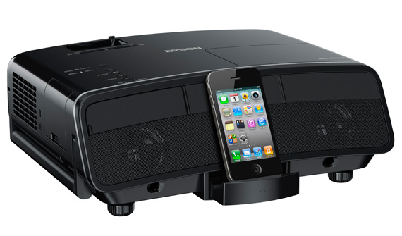 Epson MG-850HD, Βιντεοπροβολέας με iPod docking station