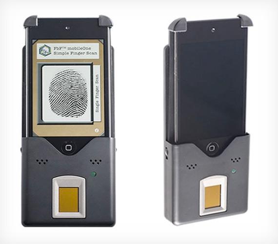 FbF mobileOne, iPhone scanner για δαχτυλικά αποτυπώματα