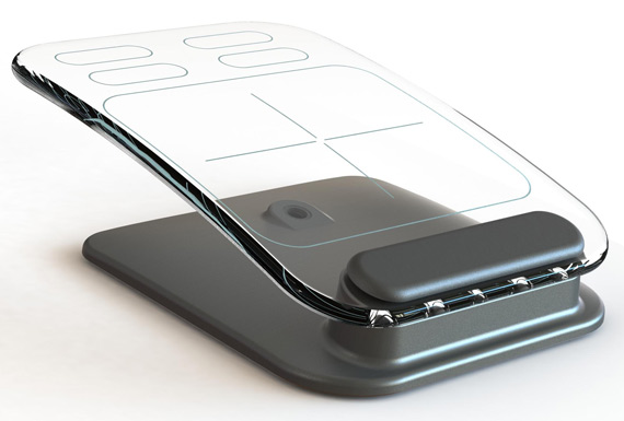 Multi-touch πληκτρολόγιο και ποντίκι από γυαλί!
