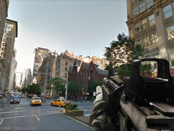 Θύελλα αντιδράσεων για το παιχνίδι Google Shoot View