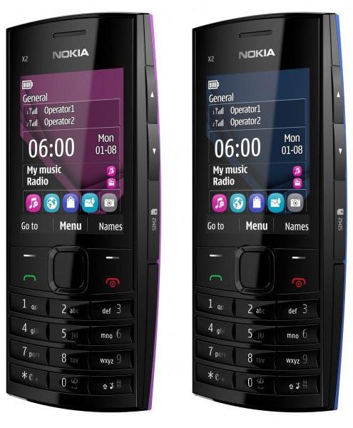 Nokia X2-02, Δίκαρτο κινητό με ενσωματωμένη κεραία FM