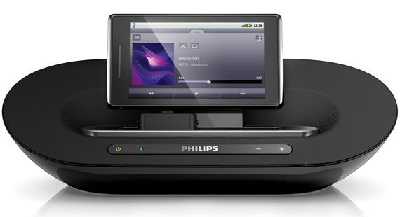 Η Philips αποκαλύπτει τα νέα ηχεία υποδοχής Fidelio για Android