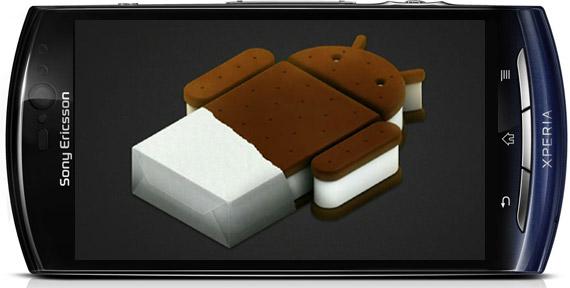 Sony Ericsson Xperia Neo V, Αναβάθμιση σε Ice Cream Sandwich τον Απρίλιο