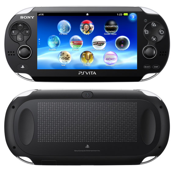 To manual του φορητού PlayStation Vita