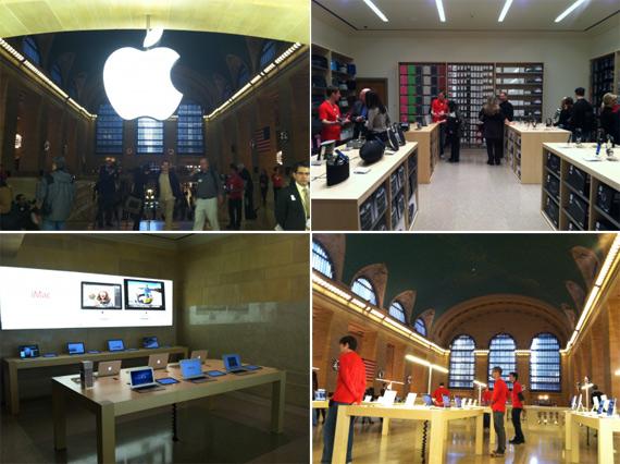 The Apple Store Grand Central Manhattan, Ο παράδεισος του fan boy