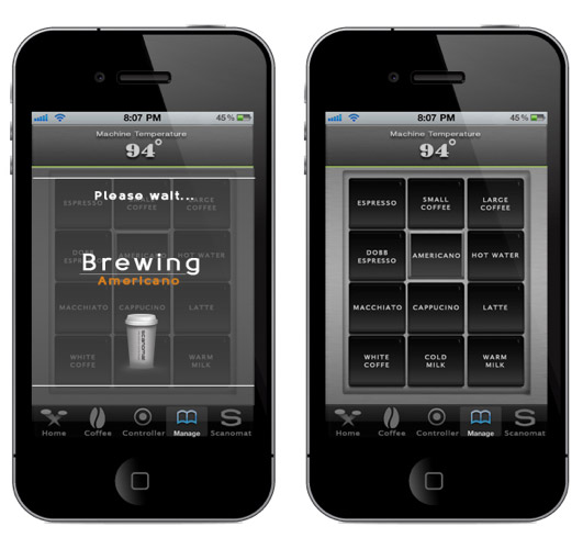 iPhone, Τελικά φτιάχνει καφέ [video]