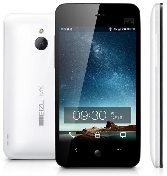 Meizu MX, Διπύρηνο 1.4GHz με οθόνη 4 ιντσών και 350 ευρώ