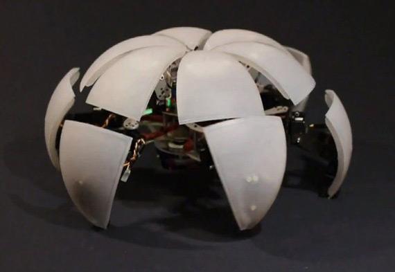 Morphex, Concept robot με έξι πόδια προχωράει σαν καβούρι