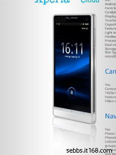 Sony Ericsson Nozomi, Θα μπορούσε να είναι αυτό;
