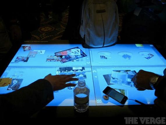 3M, Οθόνη 46 ίντσες multi-touch ανάλυσης 1080p