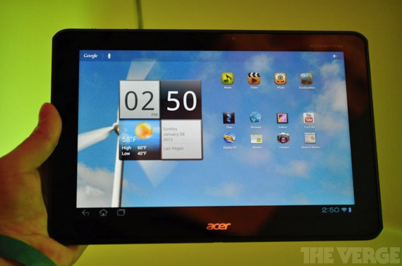 Acer Iconia Tab A700, Τετραπύρηνο tablet 1.3GHz με οθόνη 1080p και ICS