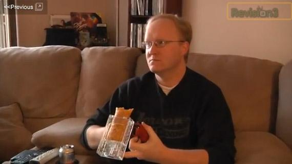 Ben Heck ο μάστορας, Παίζοντας games και… τρώγοντας ταυτόχρονα