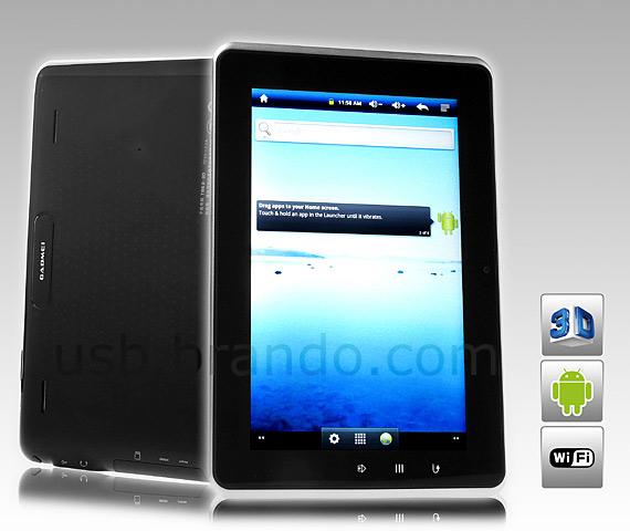 GADMEI T863-3D, 8άρι tablet με οθόνη 3D 1280x728 pixels και 199 dollars
