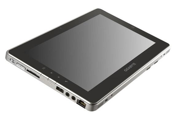 Gigabyte S1081, Windows 7 tablet με οθόνη 10.1 ιντσών