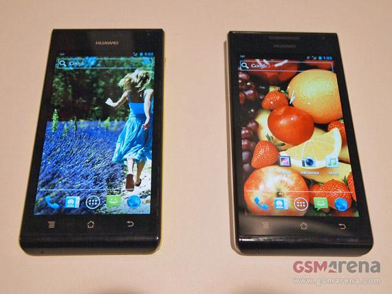 Huawei Ascend P1 S, Hands-on φωτογραφίες [gsmarena]