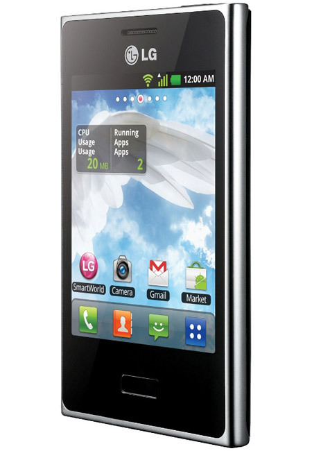 LG Optimus L3, Με οθόνη 3.2 ίντσες και νέα σχεδίαση