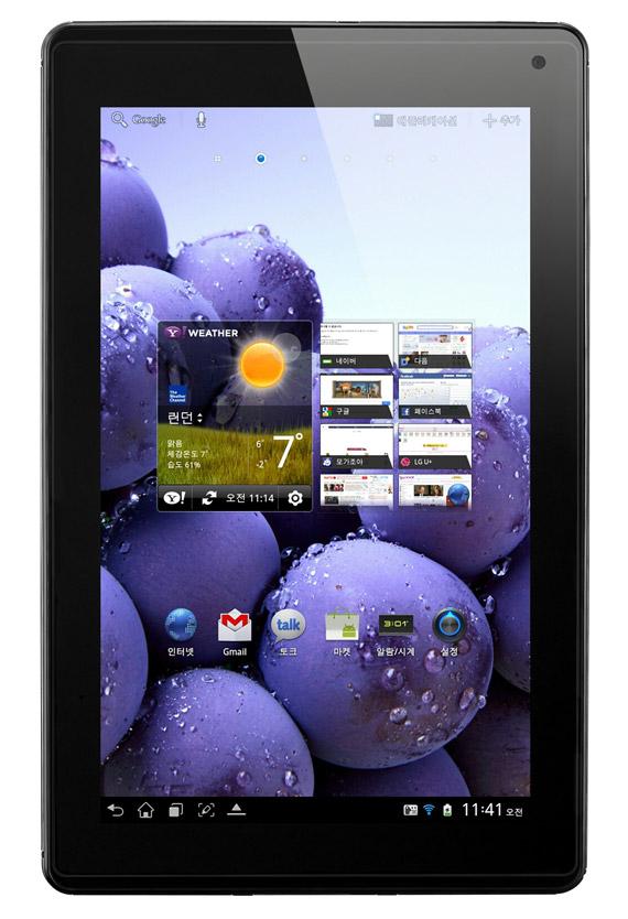 LG Optimus Pad LTE, Με οθόνη 8.9 ιντσών τεχνολογίας True HD IPS