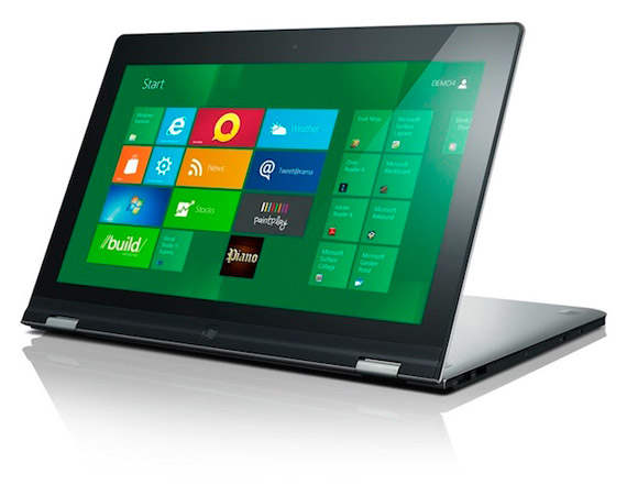 Lenovo IdeaPad Yoga, Υβριδικό tablet και ultrabook με Windows 8