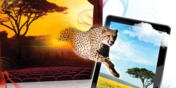 Οθόνες 3D χωρίς γυαλιά, 4.3 ίντσες 720p για smartphones και 10.1 ίντσες 1920x1200 για tablets