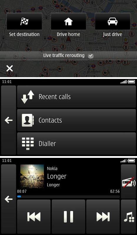 Nokia Car Mode, Διαθέσιμο δωρεάν για Symbian Belle smartphones