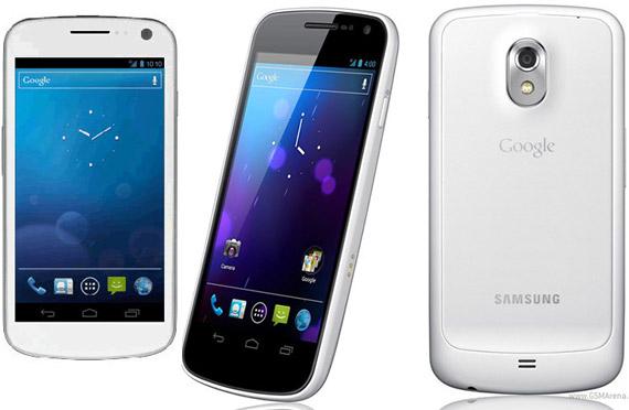 Samsung Galaxy Nexus λευκό, Όχι τόσο όσο θα θέλαμε!