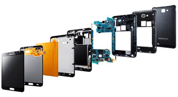 Samsung Galaxy Note από μέσα [teardown]