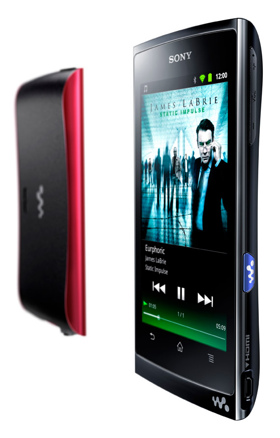 Sony NWZ-Z1000, Φορητό media player με Android και πρόσβαση στο Market