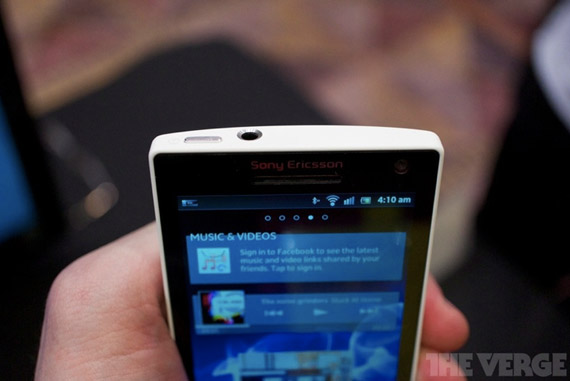 Sony Xperia S, Hands-on φωτογραφίες