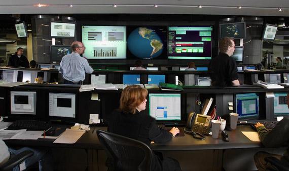 Symantec control center