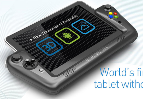 WikiPad, ICS Tablet με οθόνη 8 ιντσών 3D και game controller