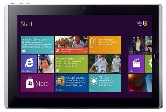 Windows 8 tablets, Περισσότερες προδιαγραφές από την Intel