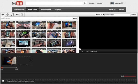 YouTube, Εμφανισιακές αλλαγές σε editor και video manager