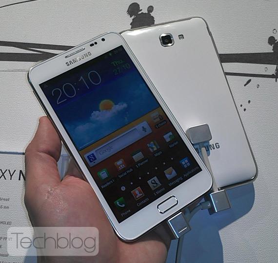 Samsung Galaxy Note λευκό, Το περιμένουμε Ελλάδα τέλη του μήνα