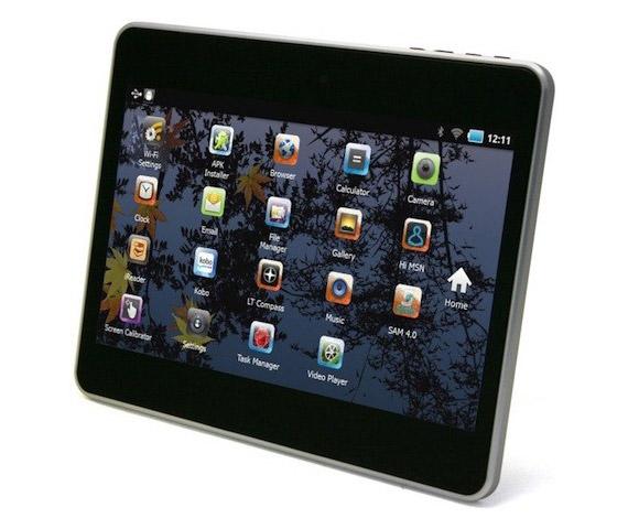 Leader International, Οικονομικά tablet με Android 4.0 Ice Cream Sandwich