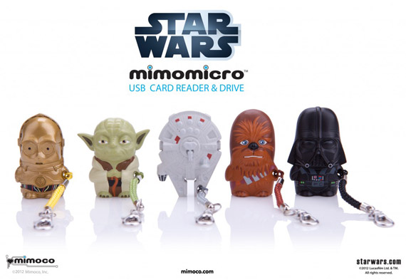 Mimoco, USB stick με card reader σε μινιατούρες Star Wares και DC comics!