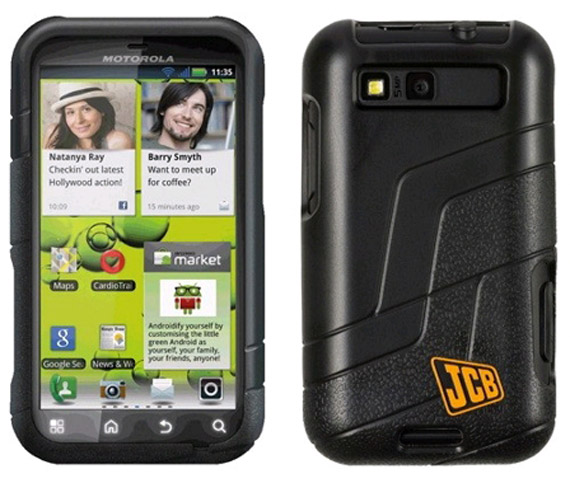 Motorola Defy+ JCB edition, Το γιαπί το πηλοφόρι το μυστρί